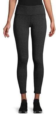Calvin Klein Printed High-Waisted Leggings