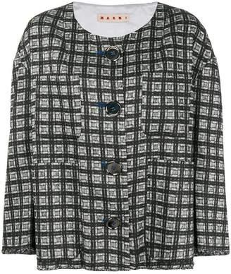 Marni geometric print jacket