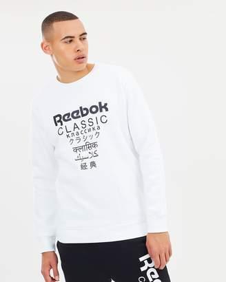 Reebok Classics Fleece Crew
