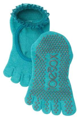 ToeSox Bella Full Toe Lace Gripper Socks