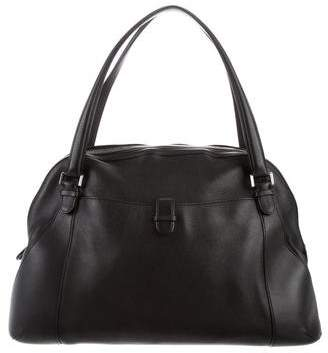 Valextra Punch Bowler Bag