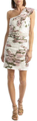 Colette One Shoulder Ruffle Dress