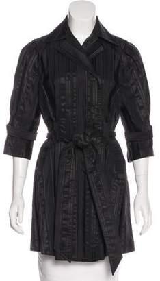 Diane von Furstenberg Jacquard Double-Breasted Coat