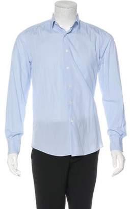Lanvin Check Button-Up Shirt