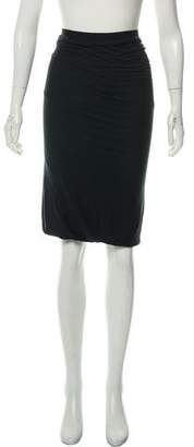 Rick Owens Lilies Knee-Length Pencil Skirt