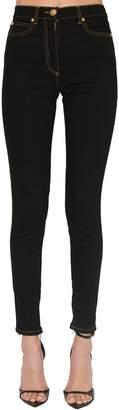 Versace High Waist Skinny Stretch Denim Jeans