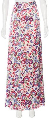 Alice by Temperley Floral Print Maxi Skirt $125 thestylecure.com