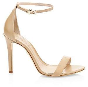 Schutz Women's Cadey-Lee Leather Ankle-Strap Sandals