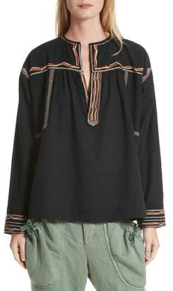 Etoile Isabel Marant Blicky Embroidered Top