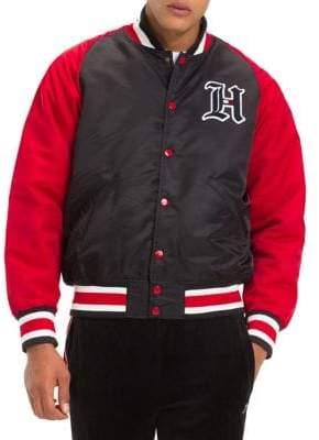 Tommy Hilfiger X Lewis Hamilton Colourblock Varsity Jacket