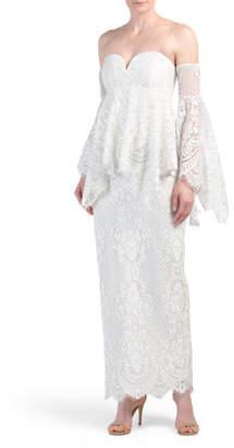 Lace Angel Maxi Dress