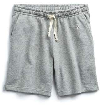 Todd Snyder + Champion The Warm Up Short In Light Grey Mix