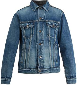 Balenciaga Contrast-panel denim jacket