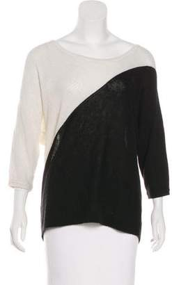 Tibi Colorblock Knit Sweater