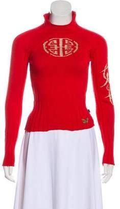 Just Cavalli Knit Long Sleeve Sweater