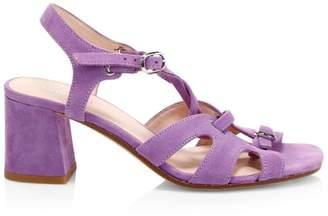 Kate Spade Ella Suede Lace-Up Sandals