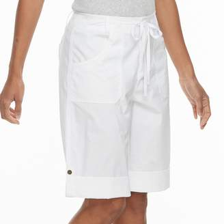 Caribbean Joe Women's Convertible Skimmer Shorts