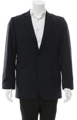 Oliver Spencer Pinstripe Wool Blazer