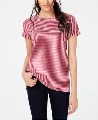 Maison Jules Striped Crew-Neck T-Shirt