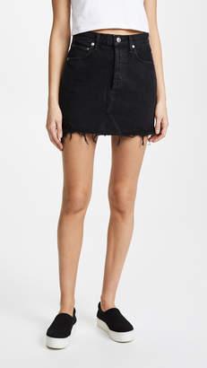 A Gold E AGOLDE Quinn High Rise Miniskirt