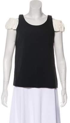 Edit Cold-Shoulder Short Sleeve Top