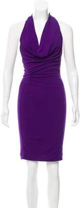 Yigal Azrouel Ruched Racerback Dress