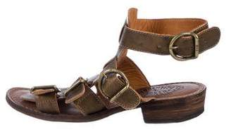 Fiorentini+Baker Leather Caged Sandals