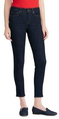 Lauren Ralph Lauren Premier Rinse-Wash Skinny Ankle Jeans