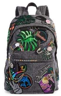 Marc Jacobs Paradise Patchwork Biker Backpack