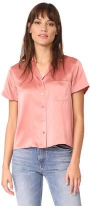 T by Alexander Wang Button Thru Collared Shirt $325 thestylecure.com