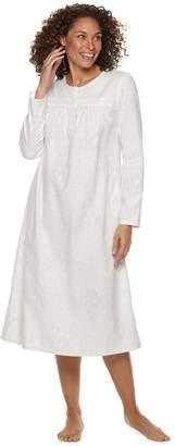 Croft & Barrow Petite Flannel Nightgown