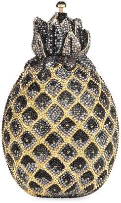 Judith Leiber Hilo Pineapple Crystal Clutch