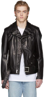 Schott Black 50s Perfecto Leather Jacket