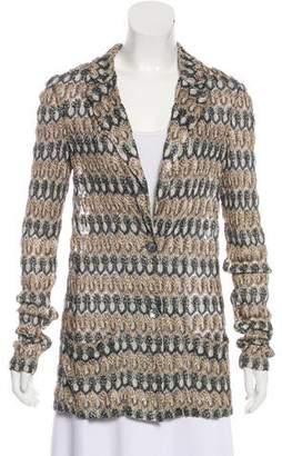 Missoni Metallic Knit Jacket