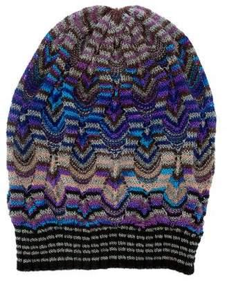 Missoni Metallic Knit Beanie