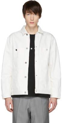 Etudes White Denim Guest Jacket