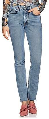GRLFRND Women's Addison High-Rise Boot-Cut Jeans