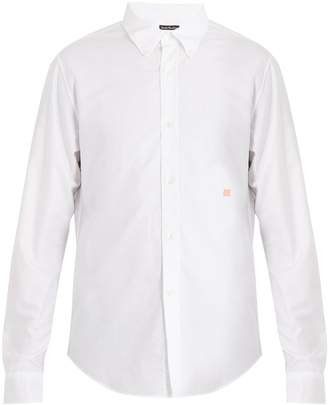 Acne Studios Ohio Face cotton shirt