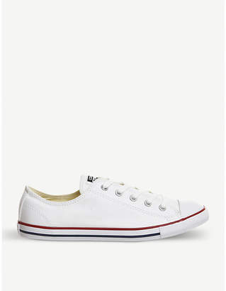 Converse Dainty canvas low-top trainers