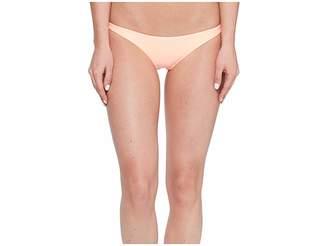 Vitamin A Swimwear Samba Ruched Back Bottom Women's Swimwear