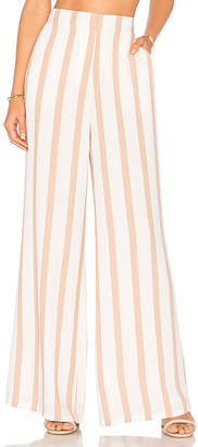 House of Harlow 1960 X REVOLVE Mona Pant in Beige $148 thestylecure.com