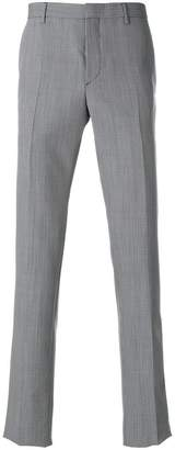 Prada patterned cropped tailored trousers