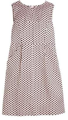 Milly Minis Polka-Dot Sleeveless Dress, Size 8-16