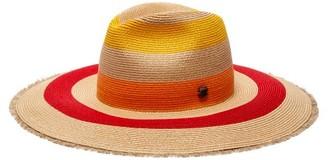 Filù Hats Filu Hats - Fuji Sun Wide Brim Straw Hat - Womens - Multi