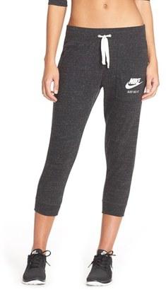 Women's Nike 'Gym Vintage' Capris $45 thestylecure.com