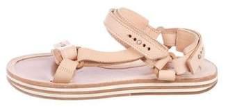 Sacai x Hender Scheme Leather Strap Sandals