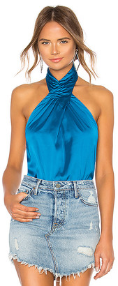 by the way. Amerie Pleated Halter Top