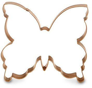 Copper Cookie Cutter, Butterfly