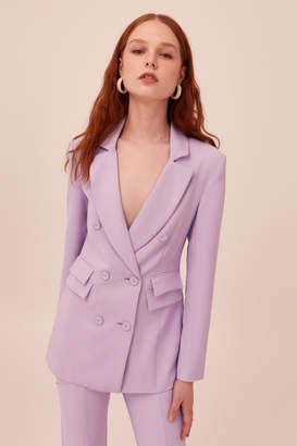 C/Meo COLLECTIVE OWN LIGHT BLAZER lilac