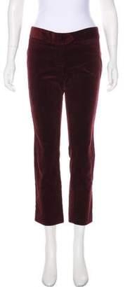 Etoile Isabel Marant Corduroy Mid-Rise Pants